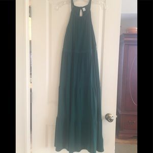 Green maxi sundress by Old Navy
